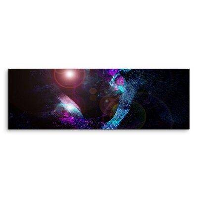 PaulSinusArt Enigma Panorama Abstrakt 1032 Painting Print on Canvas