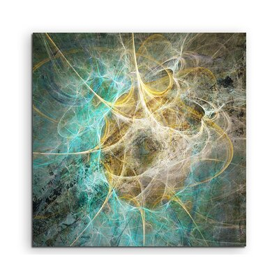 PaulSinusArt Enigma Abstract 1279 Photographic Print on Canvas