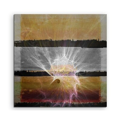 PaulSinusArt Enigma Abstrakt 1280 Painting Print on Canvas