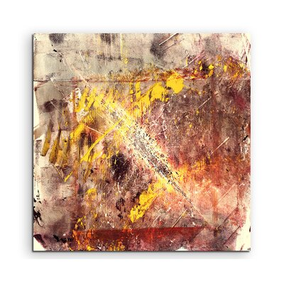 PaulSinusArt Enigma Abstrakt 905 Painting Print on Canvas