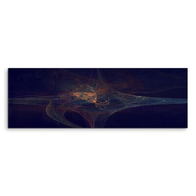 PaulSinusArt Enigma Panorama Abstrakt 1036 Painting Print on Canvas