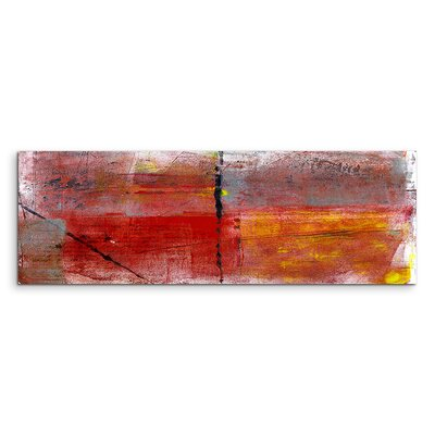 PaulSinusArt Enigma Panorama Abstrakt 812 Painting Print on Canvas