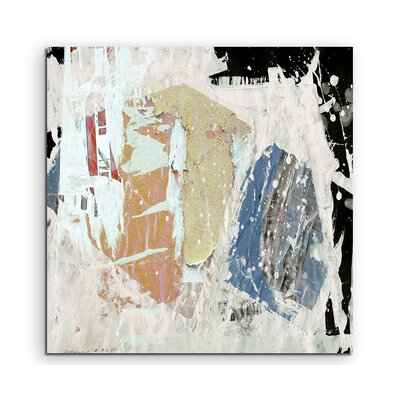 PaulSinusArt Enigma Abstrakt 636 Painting Print on Canvas
