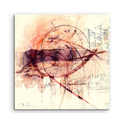 PaulSinusArt Enigma Abstract 1425 Photographic Print on Canvas