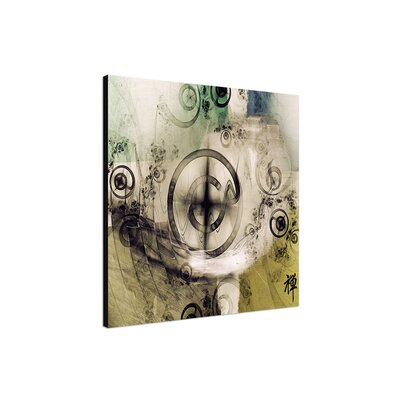 PaulSinusArt Enigma Abstract 410 Photographic Print on Canvas