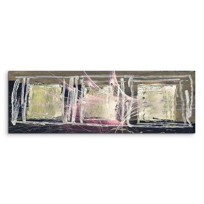 PaulSinusArt Enigma Panorama Abstrakt 1246Painting Print on Canvas