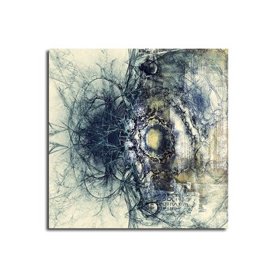 PaulSinusArt Enigma Abstrakt 412 Painting Print on Canvas