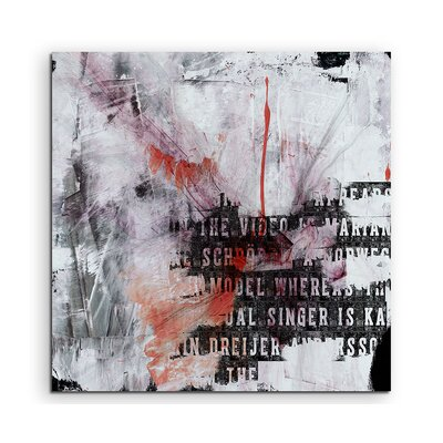 PaulSinusArt Enigma Abstract 742 Photographic Print on Canvas