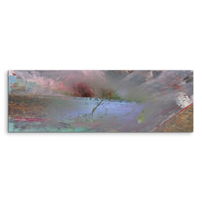 PaulSinusArt Enigma Panorama Abstrakt 1247 Painting Print on Canvas