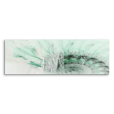 PaulSinusArt Enigma Panorama Abstrakt 1250 Painting Print on Canvas