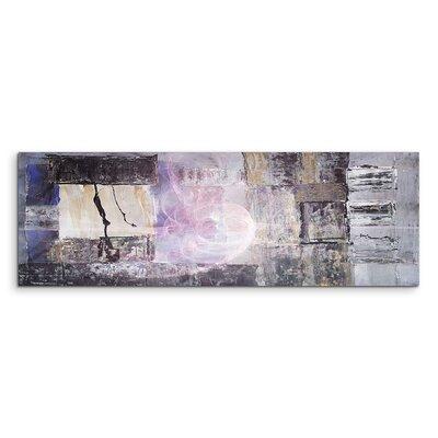 PaulSinusArt Enigma Panorama Abstrakt 1252 Painting Print on Canvas