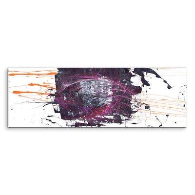 PaulSinusArt Enigma Panorama Abstrakt 1254 Painting Print on Canvas