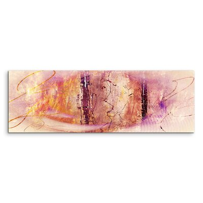 PaulSinusArt Enigma Panorama Abstrakt 1255 Painting Print on Canvas