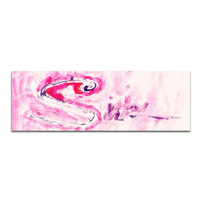 PaulSinusArt Enigma Panorama Abstrakt 005 Painting Print on Canvas