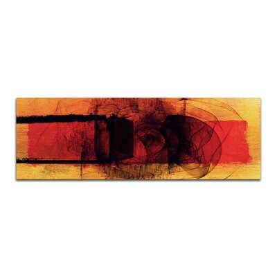 PaulSinusArt Enigma Panorama Abstrakt 141 Painting Print on Canvas
