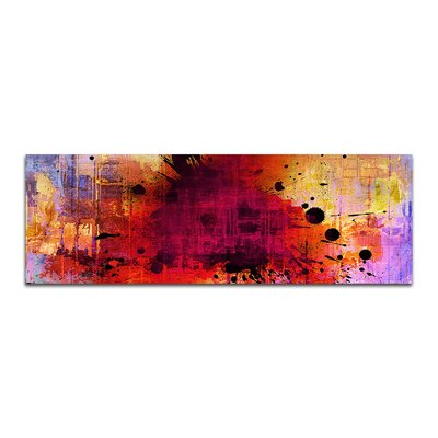 PaulSinusArt Enigma Panorama Abstrakt 142 Painting Print on Canvas