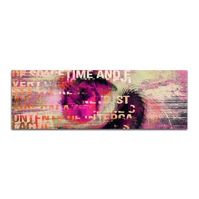 PaulSinusArt Enigma Panorama Abstrakt 143 Painting Print on Canvas