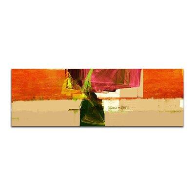 PaulSinusArt Enigma Panorama Abstrakt 144 Painting Print on Canvas