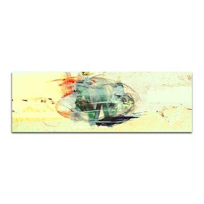 PaulSinusArt Enigma Panorama Abstrakt 148 Painting Print on Canvas