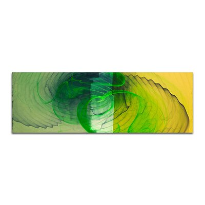 PaulSinusArt Enigma Panorama Abstrakt 150 Painting Print on Canvas