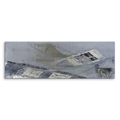 PaulSinusArt Enigma Panorama Abstrakt 1413 Painting Print on Canvas
