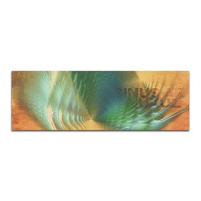 PaulSinusArt Enigma Panorama Abstrakt 155 Painting Print on Canvas