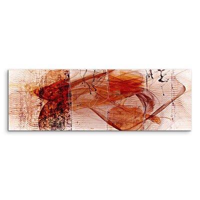 PaulSinusArt Enigma Panorama Abstrakt 1415 Painting Print on Canvas
