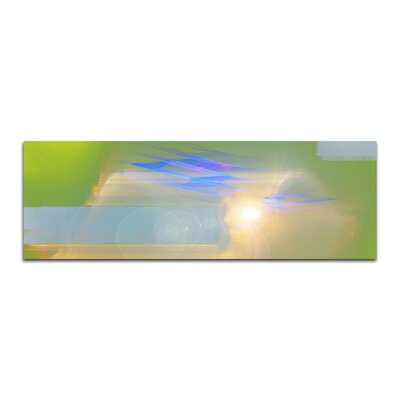 PaulSinusArt Enigma Panorama Abstrakt 011 Painting Print on Canvas