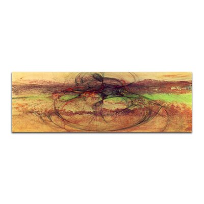 PaulSinusArt Enigma Panorama Abstrakt 159 Painting Print on Canvas