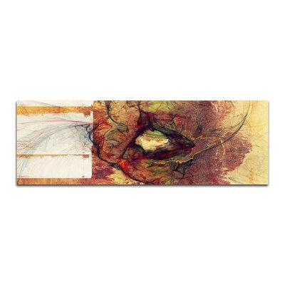 PaulSinusArt Enigma Panorama Abstrakt 164 Painting Print on Canvas