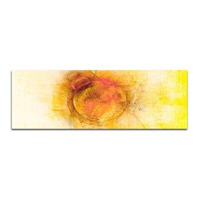 PaulSinusArt Enigma Panorama Abstrakt 194 Painting Print on Canvas