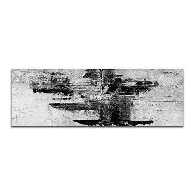 PaulSinusArt Enigma Panorama Abstrakt 050 Painting Print on Canvas