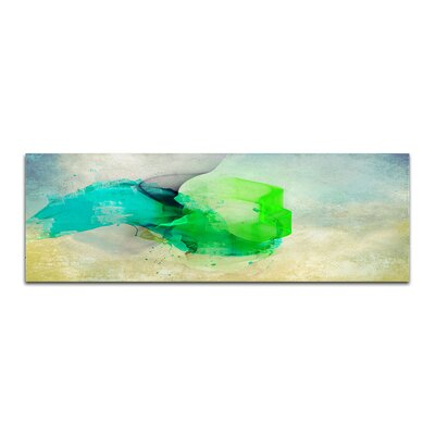 PaulSinusArt Enigma Panorama Abstrakt 054 Painting Print on Canvas