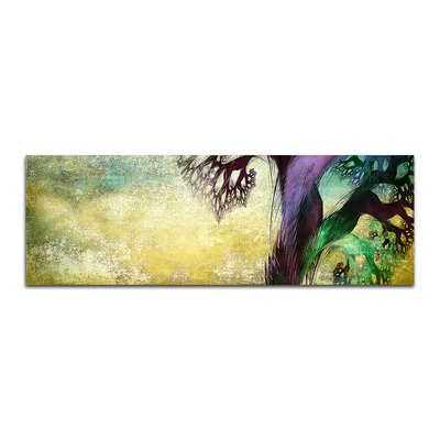 PaulSinusArt Enigma Panorama Abstrakt 055 Painting Print on Canvas