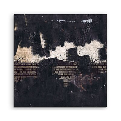 PaulSinusArt Enigma Abstrakt 842 Painting Print on Canvas