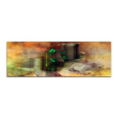 PaulSinusArt Enigma Panorama Abstrakt 196 Painting Print on Canvas