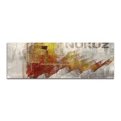 PaulSinusArt Enigma Panorama Abstrakt 362 Painting Print on Canvas