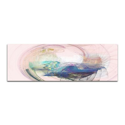 PaulSinusArt Enigma Panorama Abstrakt 364 Painting Print on Canvas