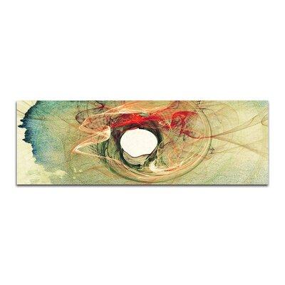 PaulSinusArt Enigma Panorama Abstrakt 367 Painting Print on Canvas