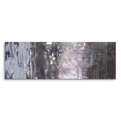 PaulSinusArt Enigma Panorama Abstrakt 623 Painting Print on Canvas