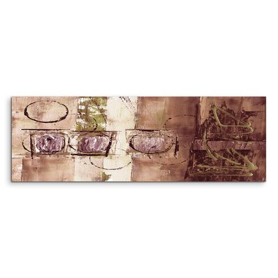 PaulSinusArt Enigma Panorama Abstrakt 624 Painting Print on Canvas