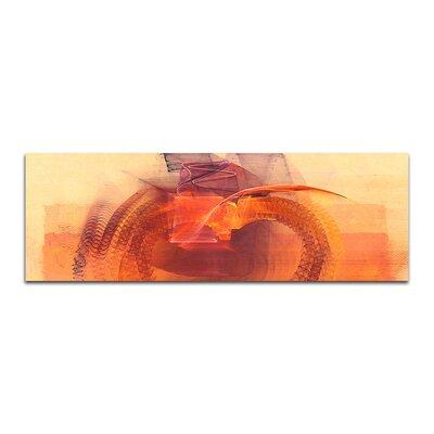 PaulSinusArt Enigma Panorama Abstrakt 059 Painting Print on Canvas