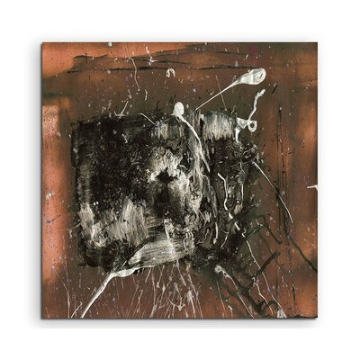 PaulSinusArt Enigma Abstrakt 852 Painting Print on Canvas