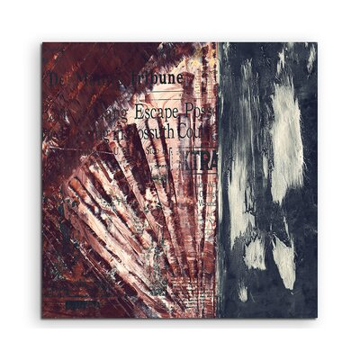 PaulSinusArt Enigma Abstrakt 856 Painting Print on Canvas