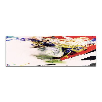 PaulSinusArt Enigma Panorama Abstrakt 370 Painting Print on Canvas
