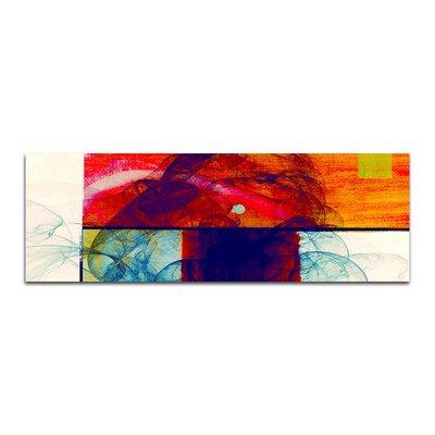 PaulSinusArt Enigma Panorama Abstrakt 372 Painting Print on Canvas