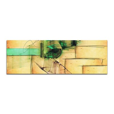 PaulSinusArt Enigma Panorama Abstrakt 206 Painting Print on Canvas