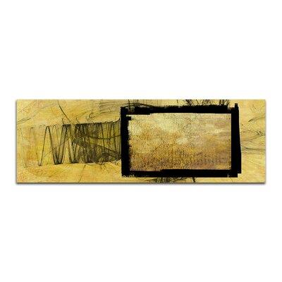 PaulSinusArt Enigma Panorama Abstrakt 373 Painting Print on Canvas