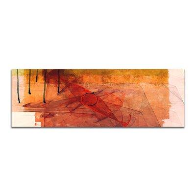 PaulSinusArt Enigma Panorama Abstrakt 210 Painting Print on Canvas