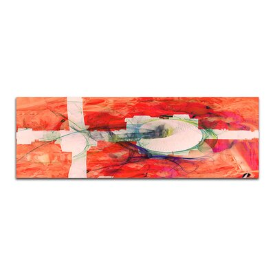 PaulSinusArt Enigma Panorama Abstrakt 377 Painting Print on Canvas